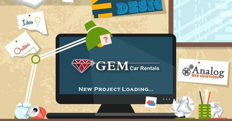 GEM Car Rentals Project Loading!