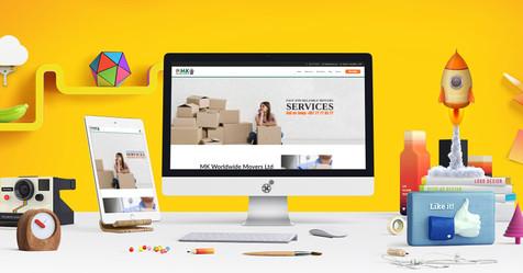 MK Worldwide Movers website launch!