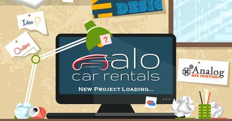 Alo Car Rentals Project Loading!