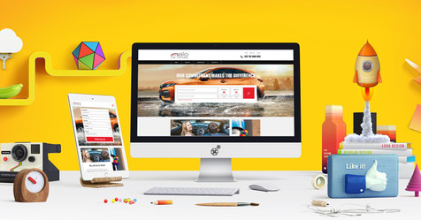 Alo Car Rentals website launch!