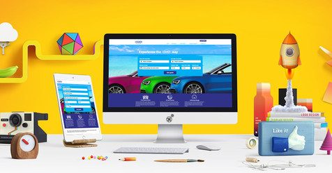 Cosmos Car Rental website launch!