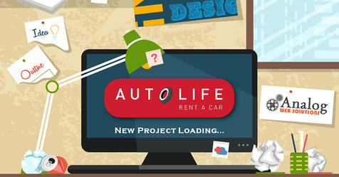 AutoLife Rent A Car Project Loading!