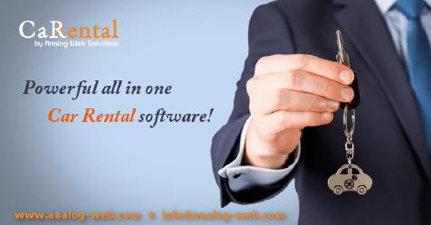 Car Rental Software Solution!